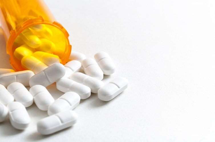 Opioid,Epidemic,,Drug,Abuse,And,Overdose,Concept,With,Scattered,Prescription